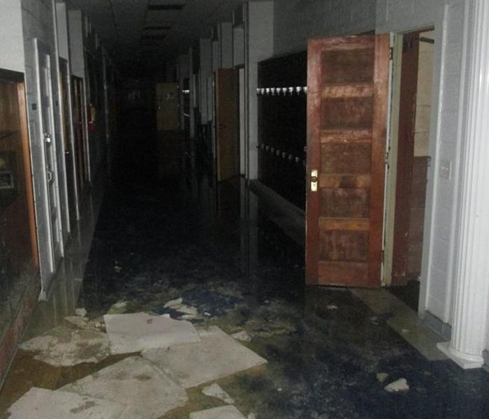 Water Damage SERVPRO of Dothan helps out a local school with a substantial water loss