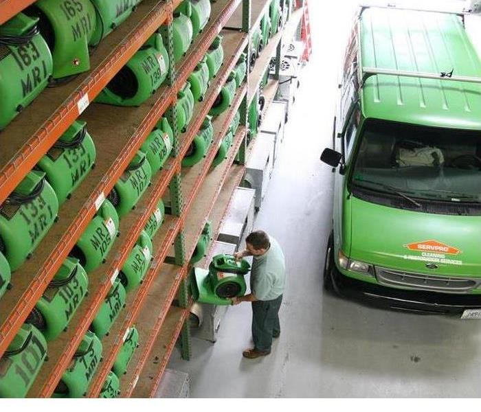 Be prepared - image of SERVPRO equipment